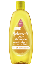 JOHNSON'S® baby shampoo original con pH balanceado